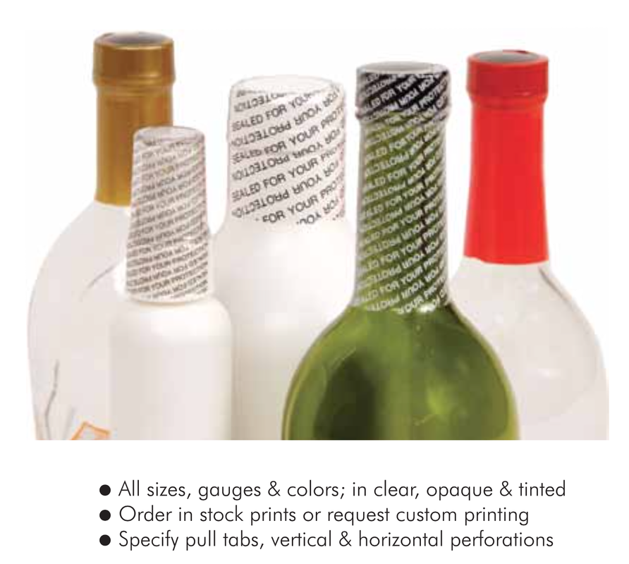 Heat Shrink Bands, Sleeves and Lid Preforms