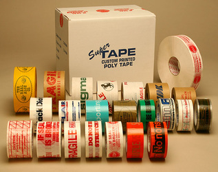 Custom printing logo tapes