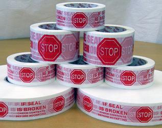 Stock Print Shipping Tape