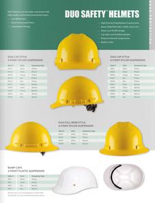 Catalog Safety Helmets Hard Hats