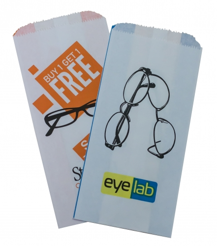 Printed paper optical bags eye wear glasses spectacle bag