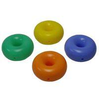 Plastic pallet cushions skids