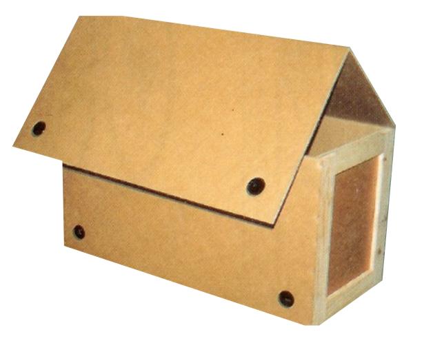 Beeclip corrloc triple wall corrugated box clip rotolocks