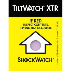 Tiltwatch xtr tilt indicator