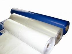 White blue heat shrink wrap film roll stock
