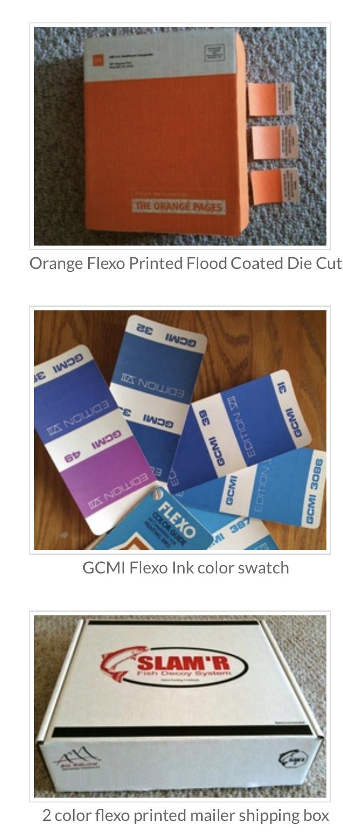 Custom flexo printed corrugated cardboard boxes