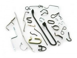 Wire bending forming