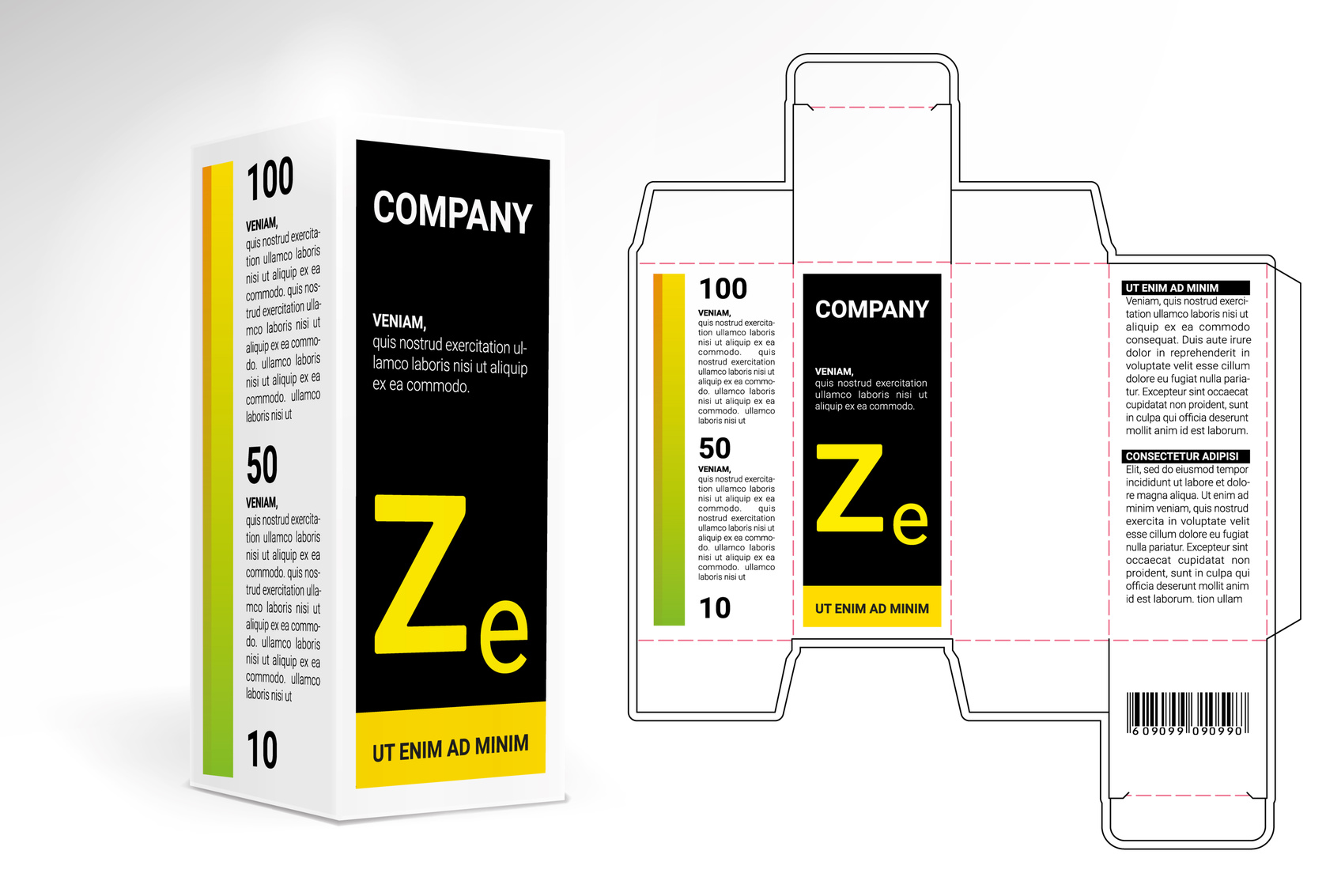 Medical and pharmaceutical cartons printed box