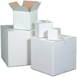 White Shipping Box