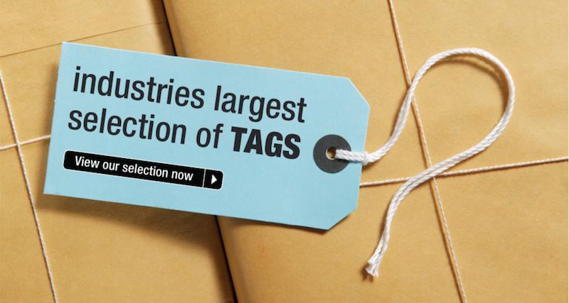 Shipping tags manilla warehouse tag string