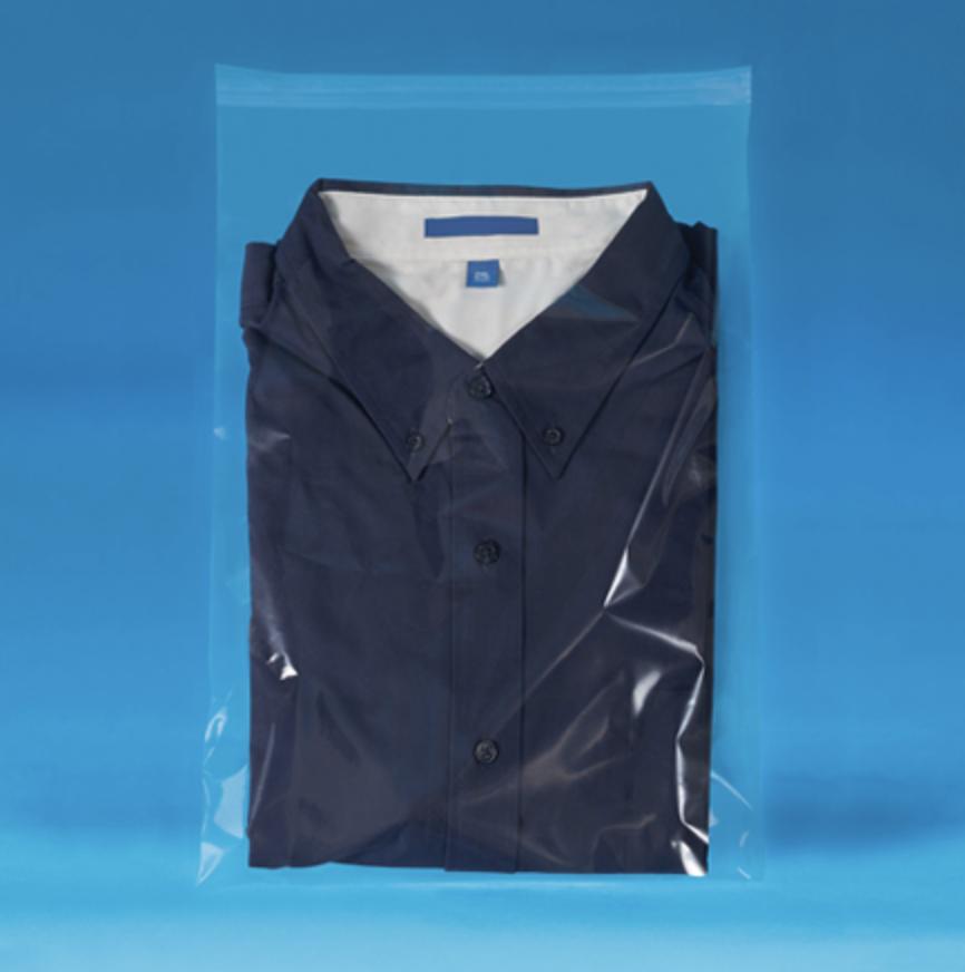 Resealable polypropylene high clairity bags