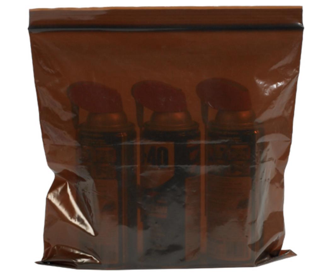 UV protection amber bags