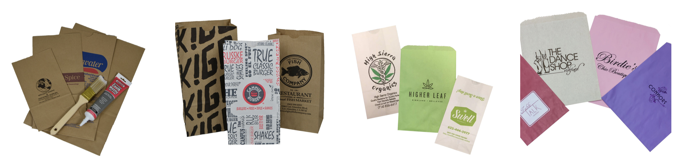 Paper Dispensary Shop Bags Merchandise