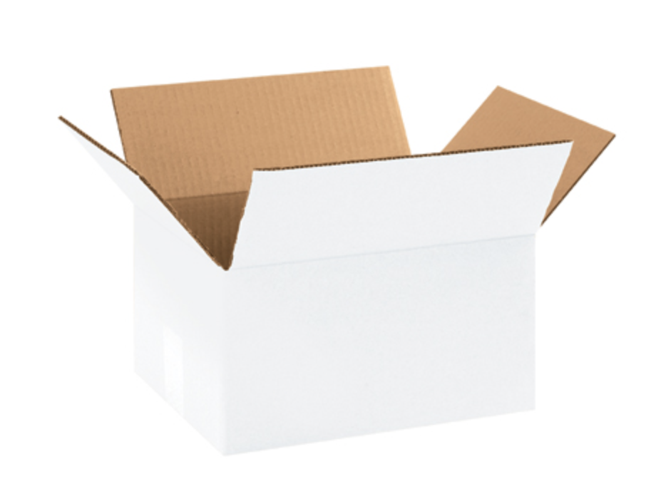 #3 Oyster White Shipping Boxes