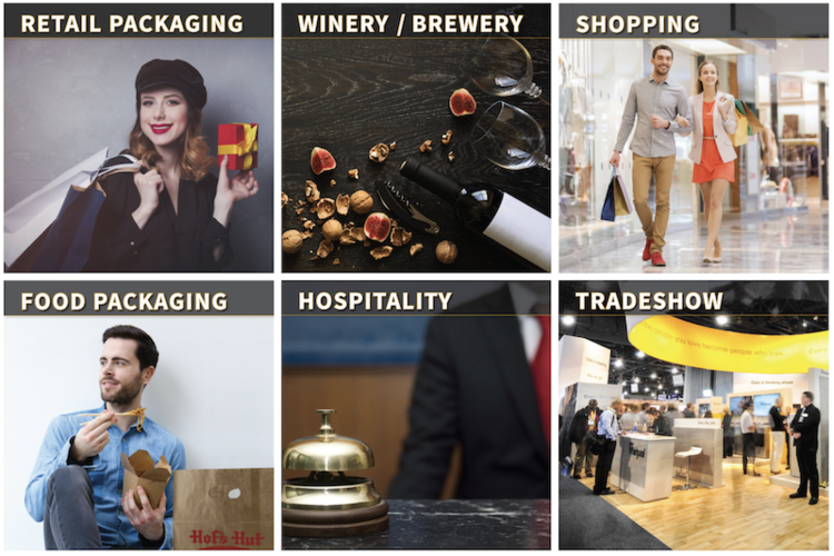 Big Valley 2019 Retail Catalog Shopping Supplies Plastic Paper Bags Wine Bag Trade show Expo Grocery Reusable Tote and Gift Boxes