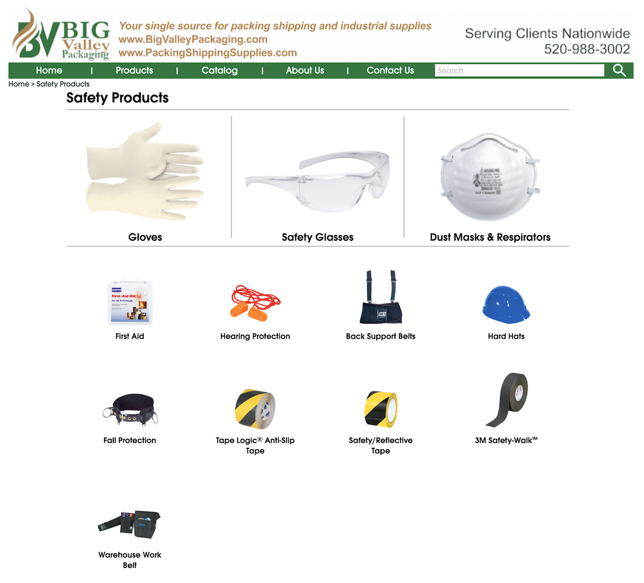 Safety Supply Products - Stocking safety supply for all your glove, safety glasses, dust mask respirators, construction work hard hats for head protection. Visit our stock warehouse online. Safety and industrial supplies. 3M respirators dust masks, 3M safety glasses goggles protective eye wear. Ear plugs for hearing ear protection, medical first aid kits, back support belts, carts dollies.