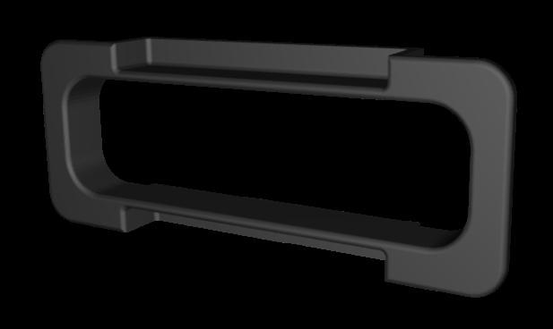 PN BCLIP-PP908 black plastic box hole reinforcing clip