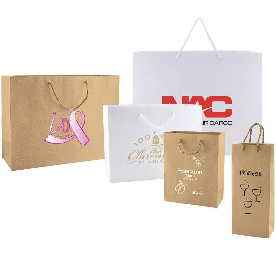 Kraft glassine Bag 50 Large Kraft  brown flat bag Kraft food safe bag Merchandise Bags