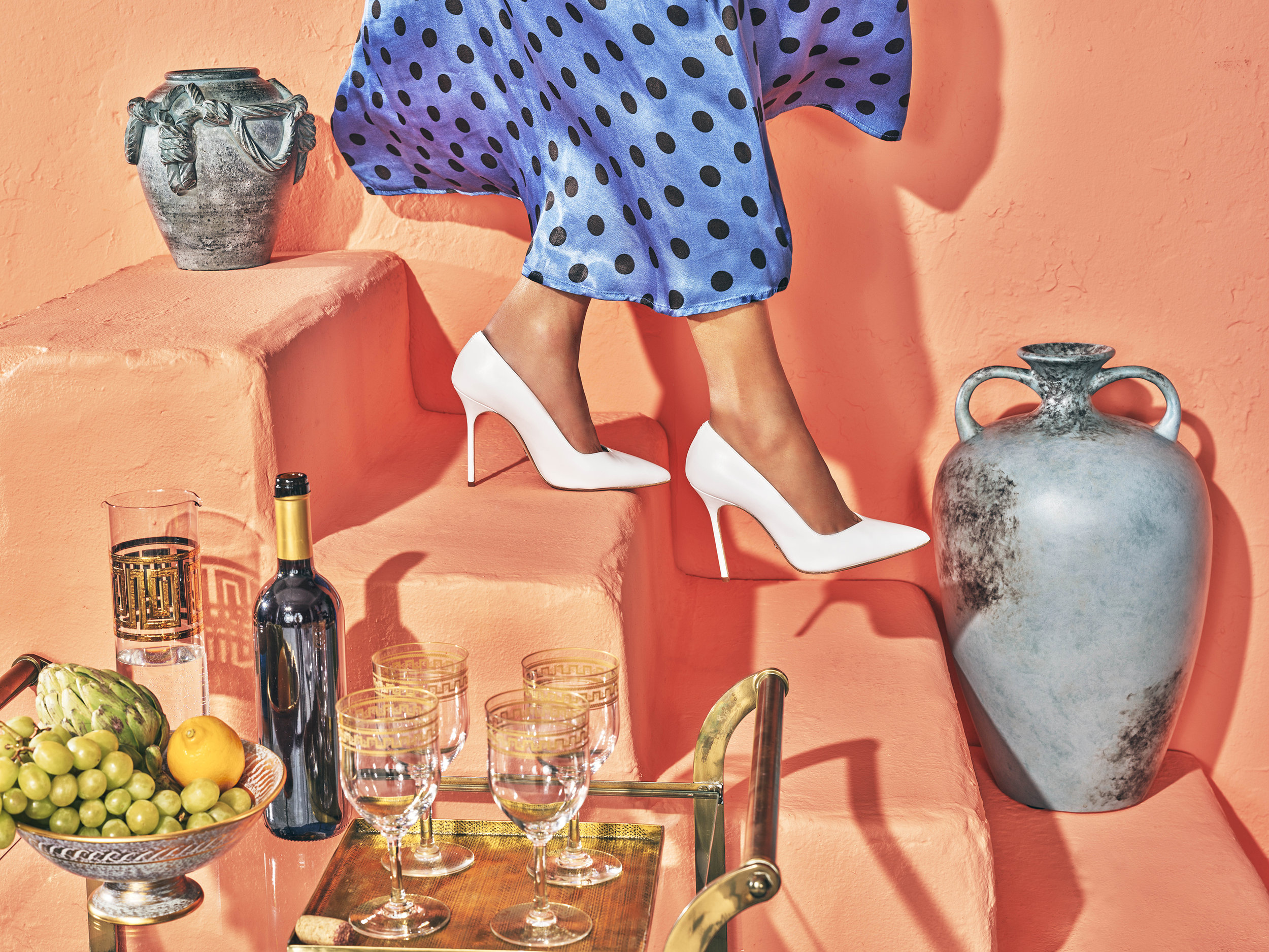stepping out in greece - Sarah Flint