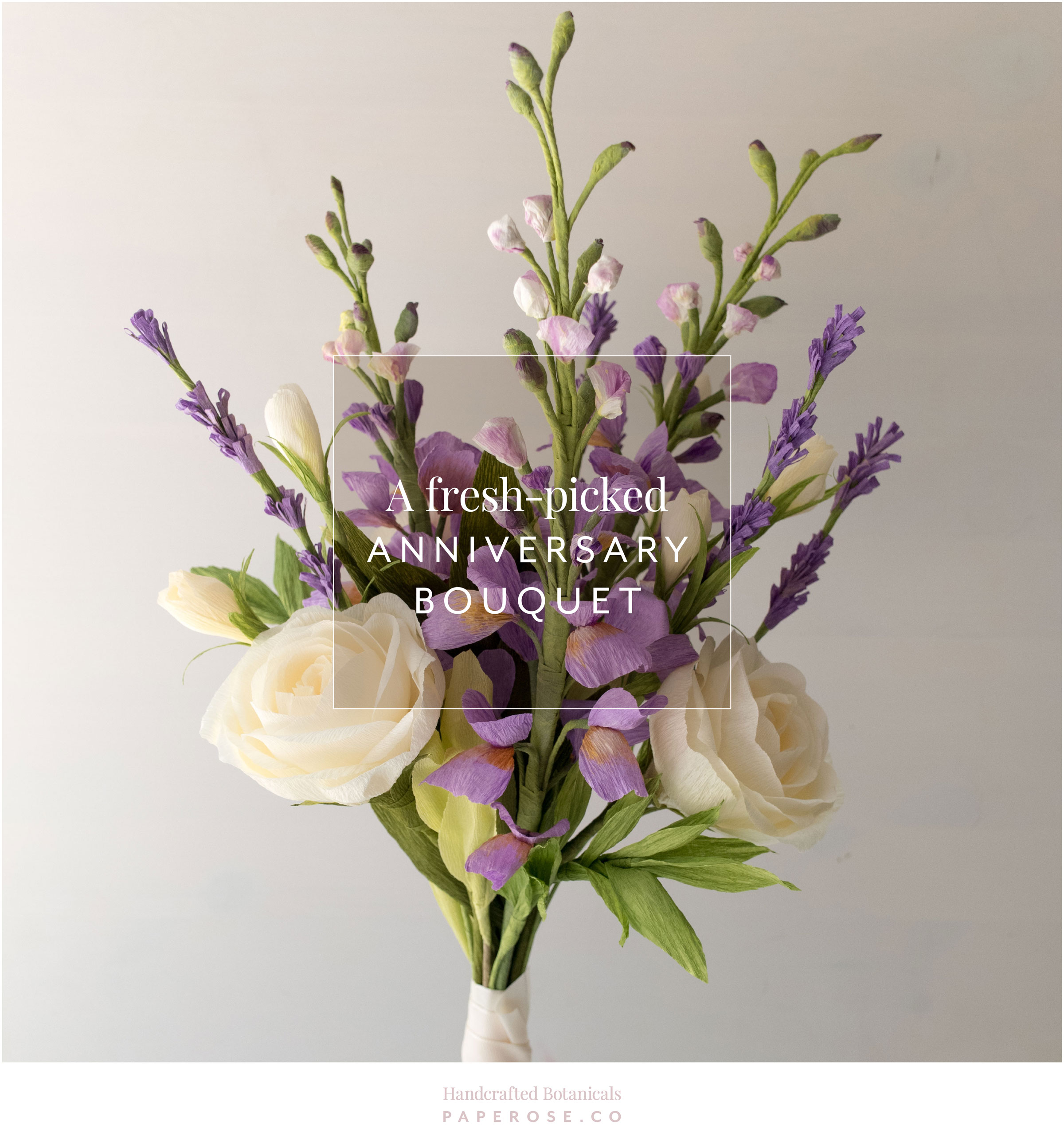 PaperRoseCo Anniversary Bouquet