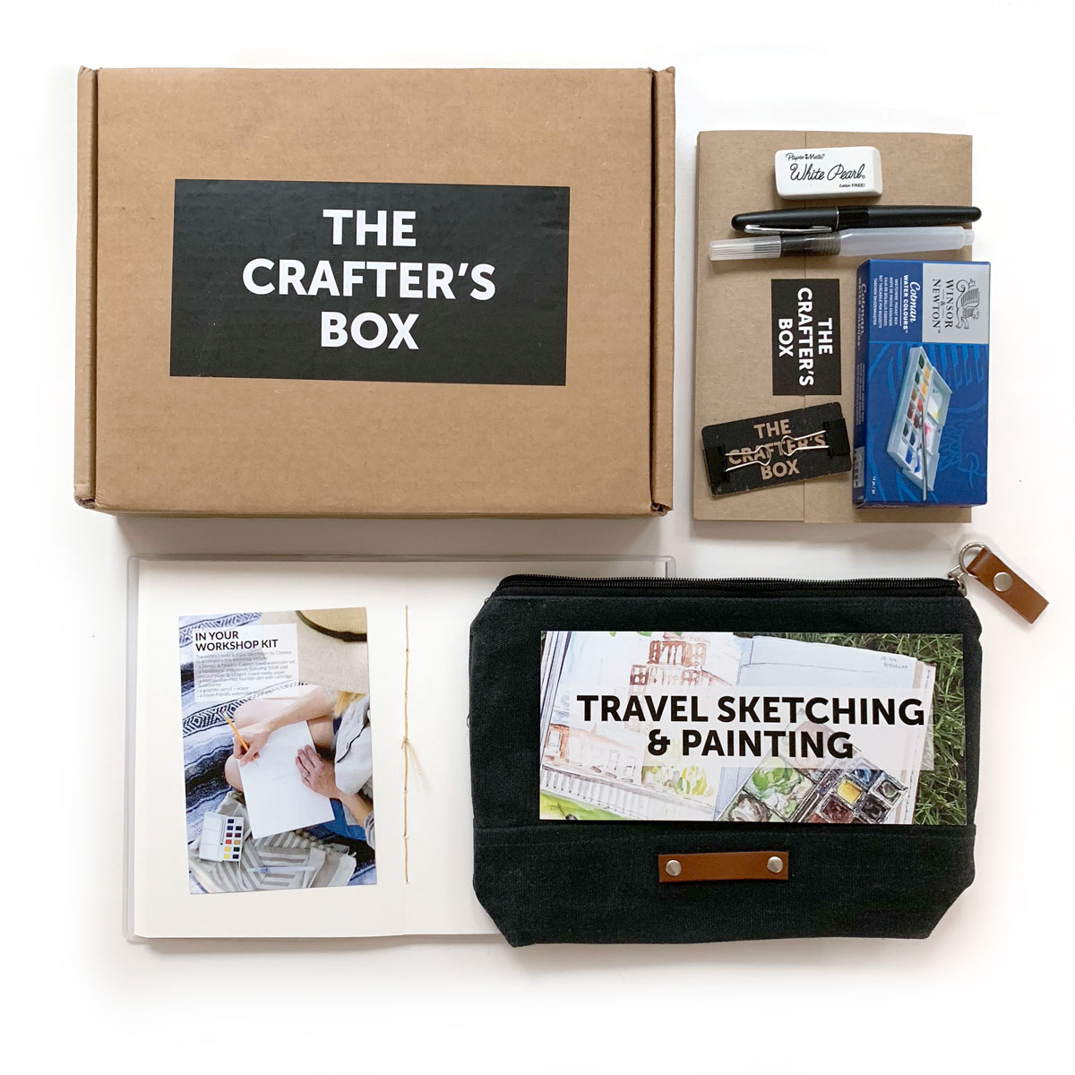 The Crafter's Box:  I added this subscription to my list last winter with a candlemaking workshop and have discovered several new artists and mediums since then. The kits come with video lessons by the featured experts and include everything you need to complete the project as curated by them. The perfect way to discover new crafts and hobbies!
