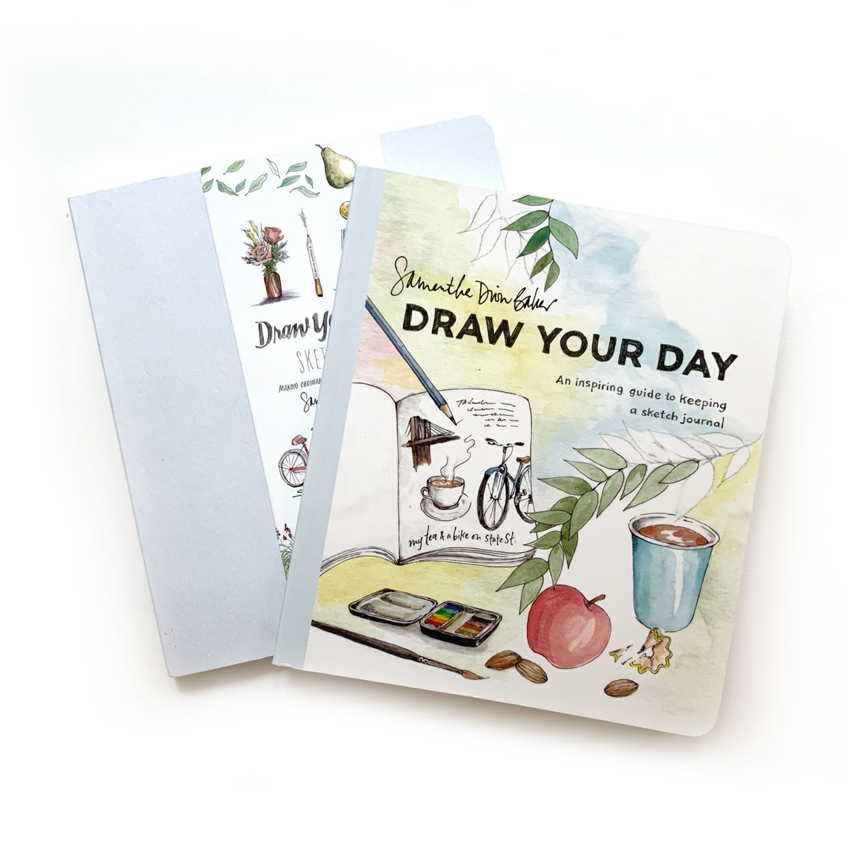 Draw Your Day  and accompanying Sketchbook by Samantha Dion Baker:  I admire those who keep up with a daily journal, and even more so those who do so in a sketched format. The joy I get from flipping through this book alone is worth the investment!