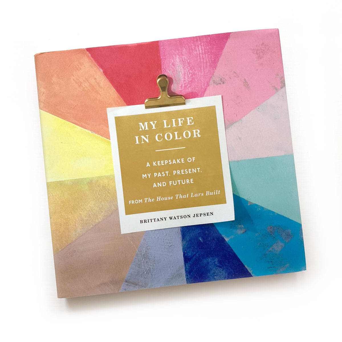 My Life in Color  by Brittany Watson Jepsen:  This book arrived not long before I left town, and is the companion to the Craft the Rainbow (another one for this list!), only it is more of a workbook, which I love. I haven't spent too much time with this one yet, but I'm looking forward to it!