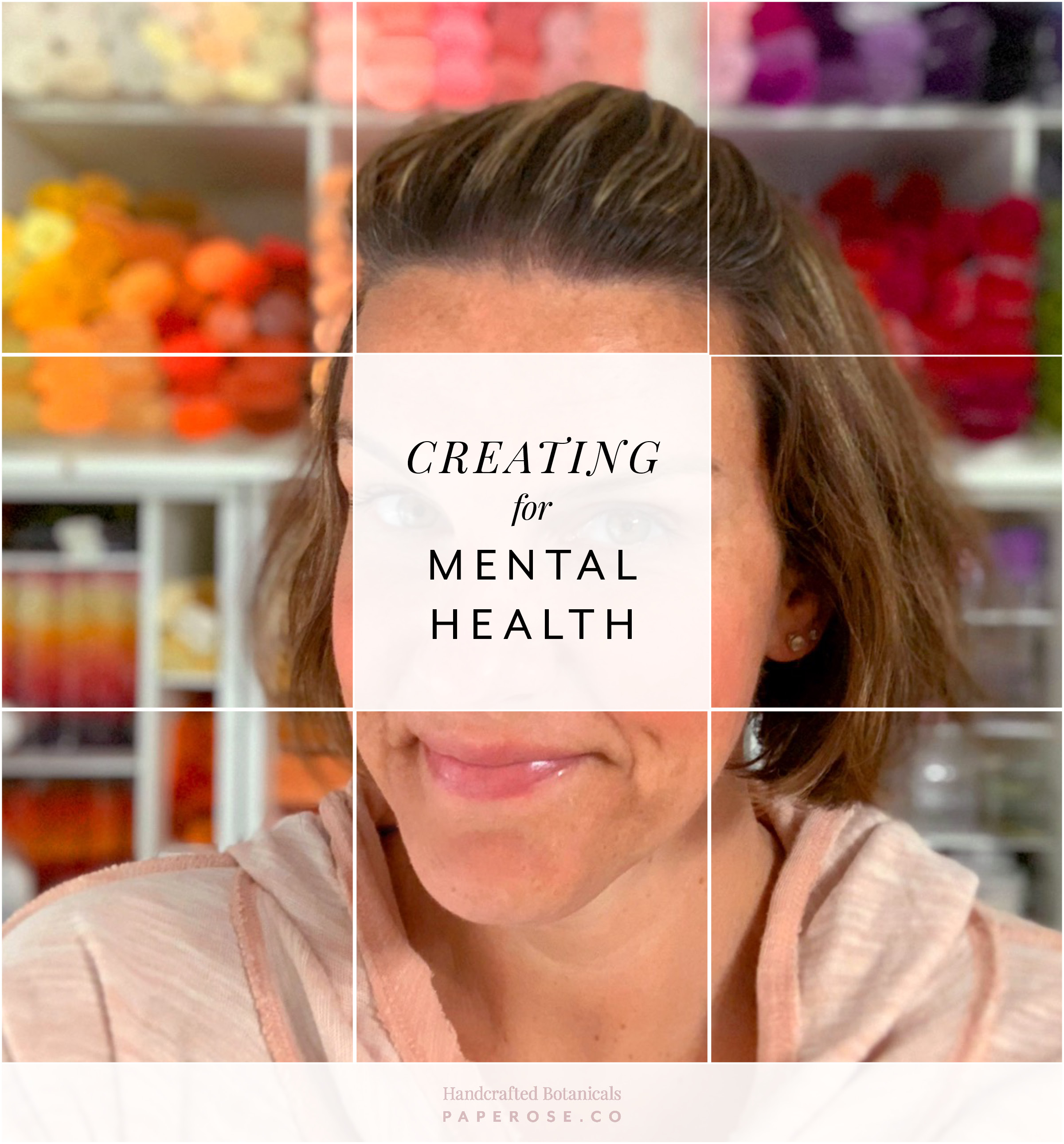 PaperRoseCo Creating for Mental Health