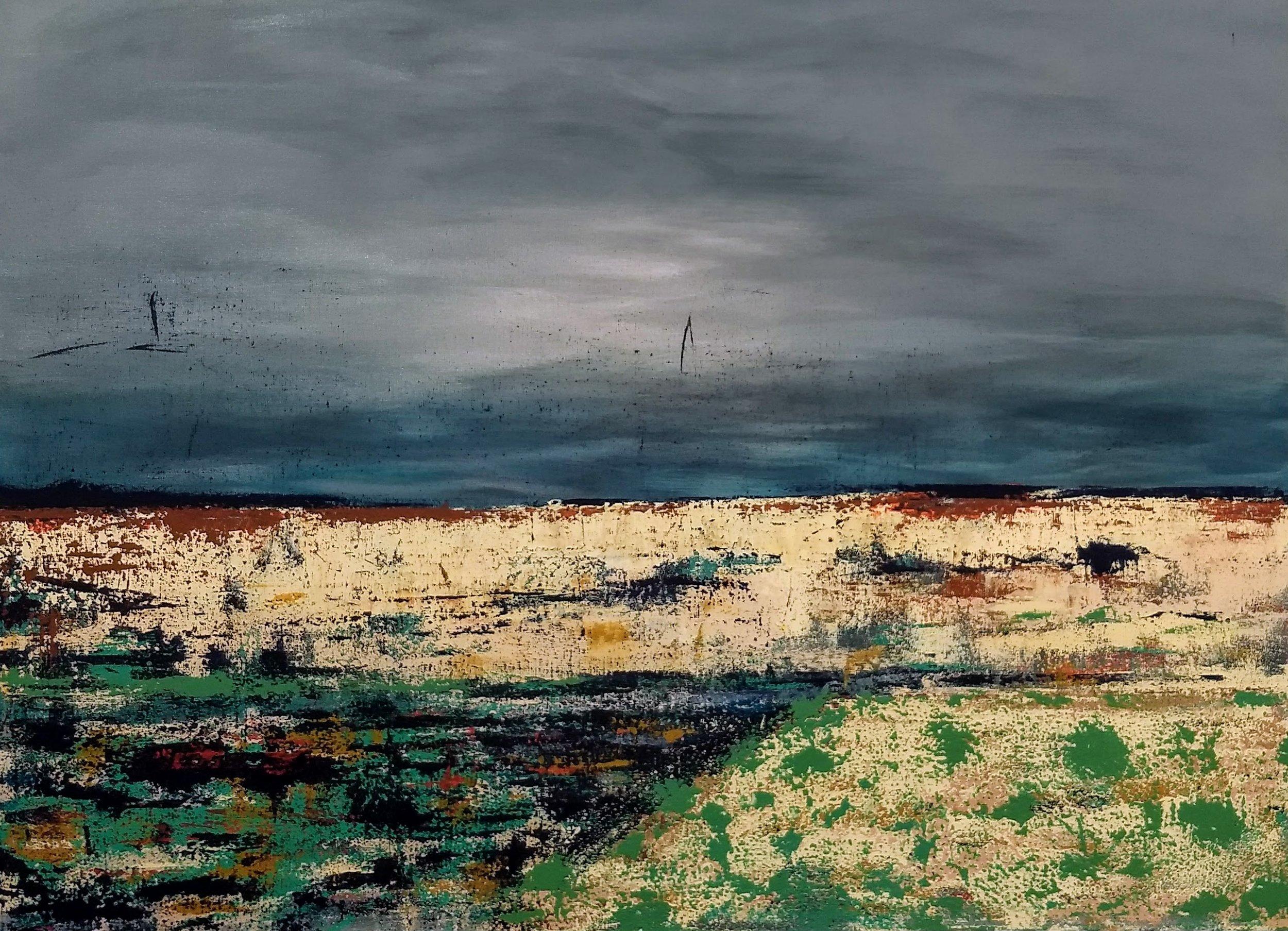 """Arroyo  36"""" x 48"""" Acrylic on Canvas"""