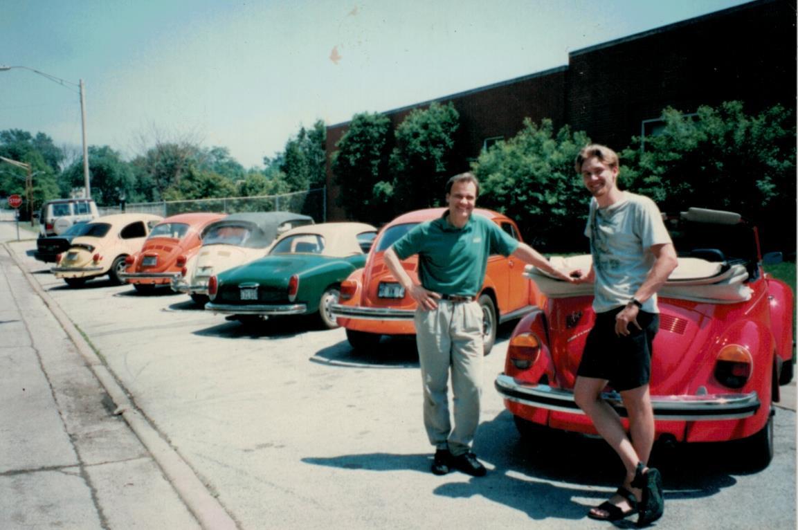 Jeremy & Jerry - 1996. Lansing, IL