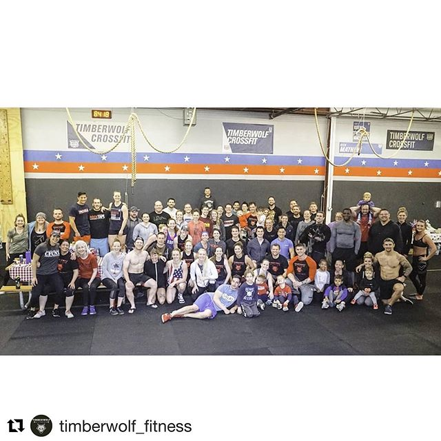 """#Repost @timberwolf_fitness with @get_repost ・・・ What a crew! It's a known CrossFit tradition on Memorial Day to get together and suffer together through a workout labeled, """"Murph"""". This workout honors all fallen soldiers that have given the ultimate sacrifice. So thrilled to see so many members show up and give this grueling workout the best they could in the pouring rain! Honored to have members like this 🇺🇸❤️❤️ . #memorialday #murph #memorialdaymurph #crossfit #community #minnesotagym #squadgoals #fitness #honorthefallen"""