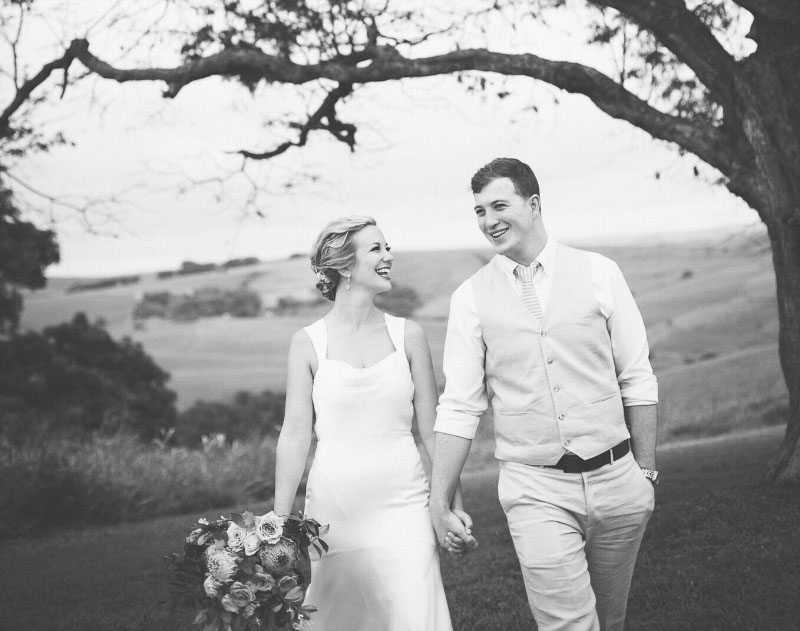 Allison & I on our wedding day in Kwazulu Natal, South Africa