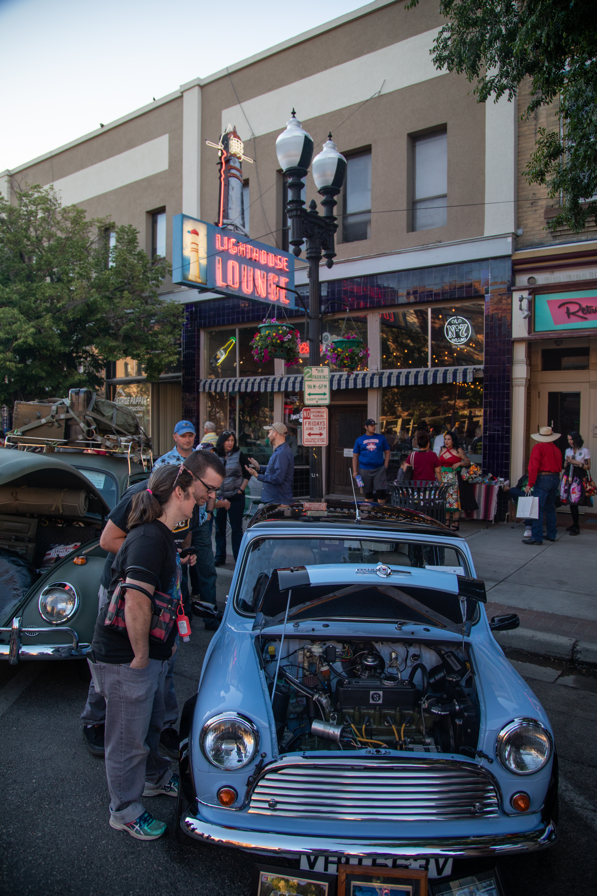 Northern Utah car owners and fans stroll Ogden's Historic 25th Street for the 2018 Ogden Car Show on June 1, 2018.