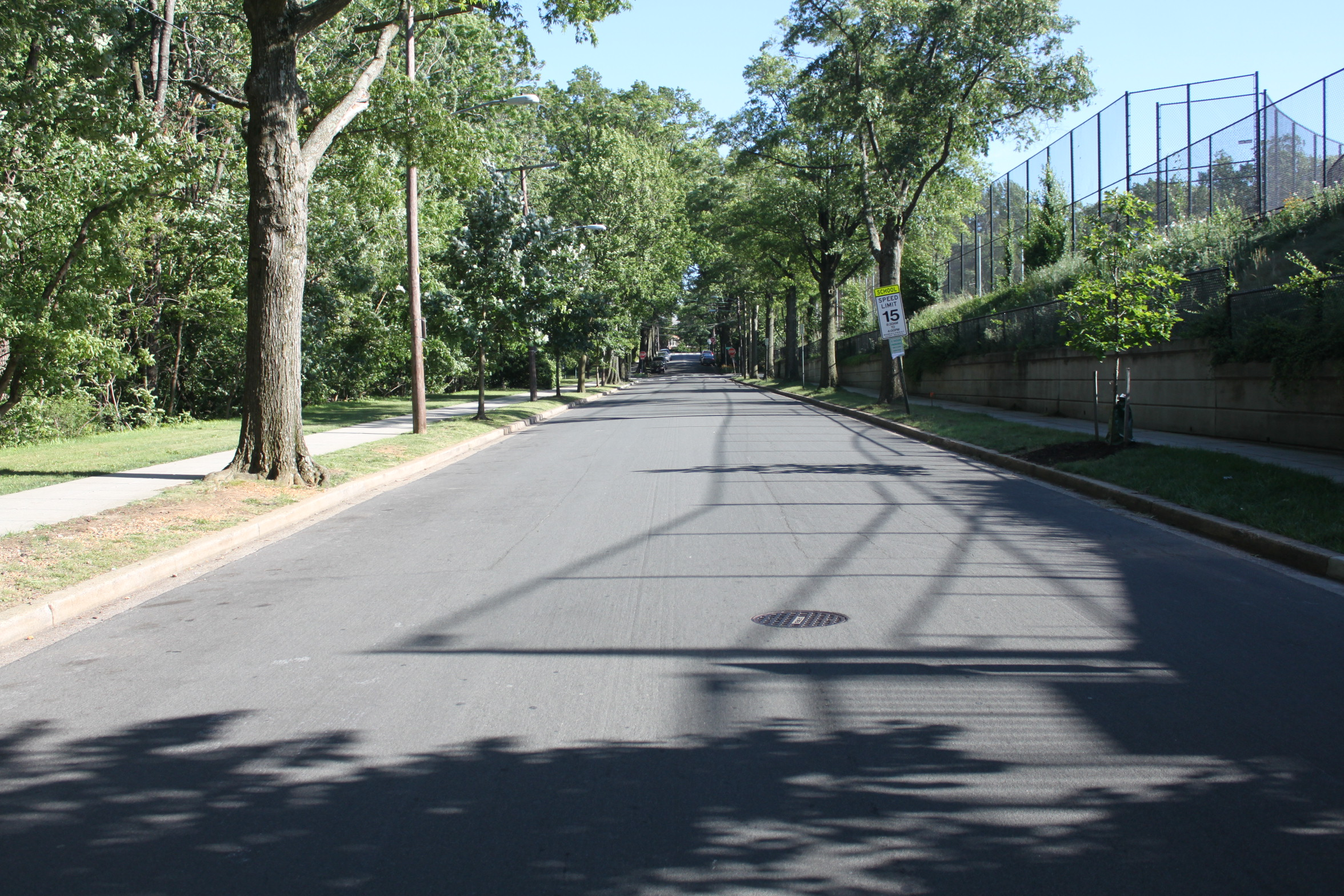 37th Street Next To Sidwell Friends