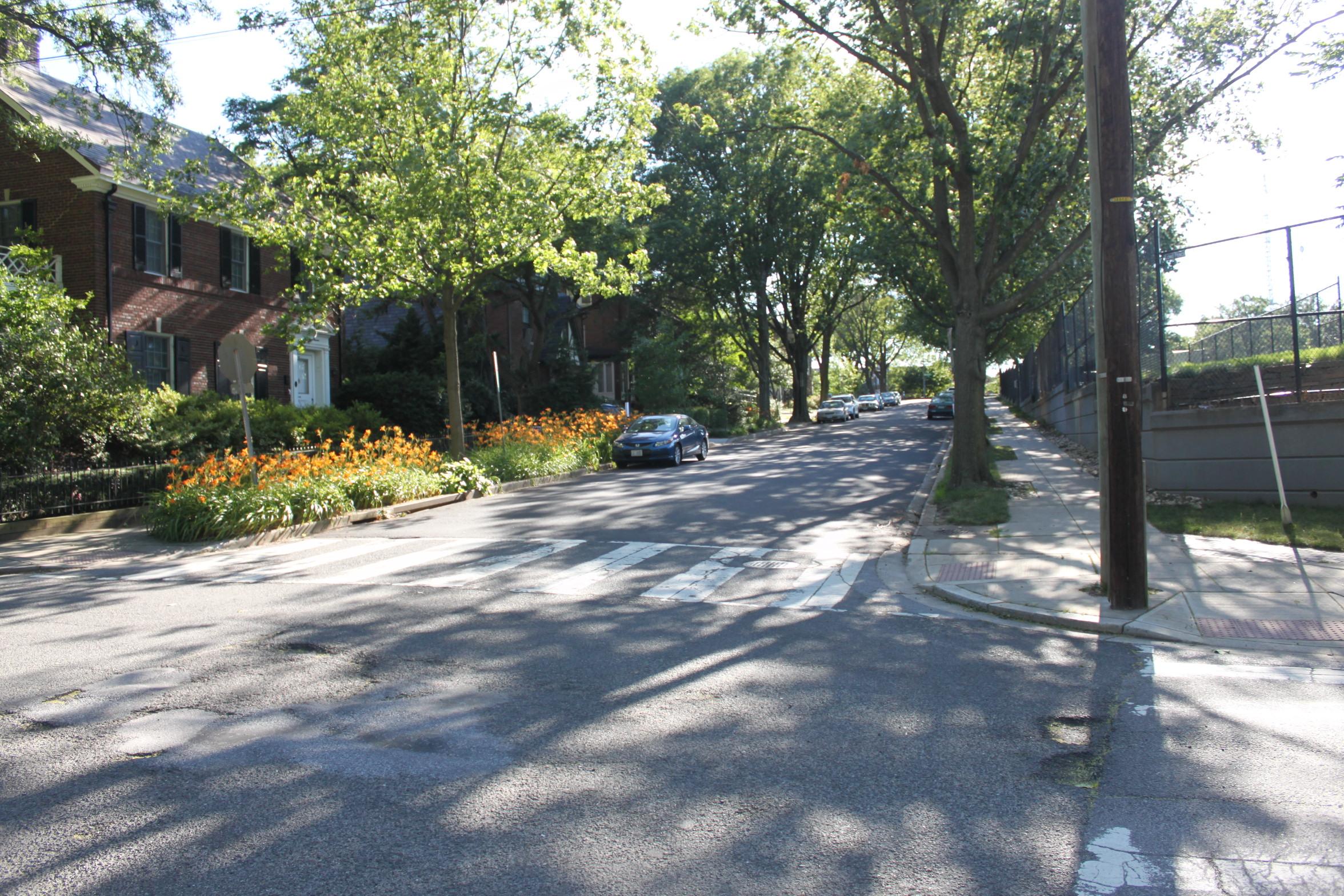 Quebec Street Looking Toward Wisconsin Avenue