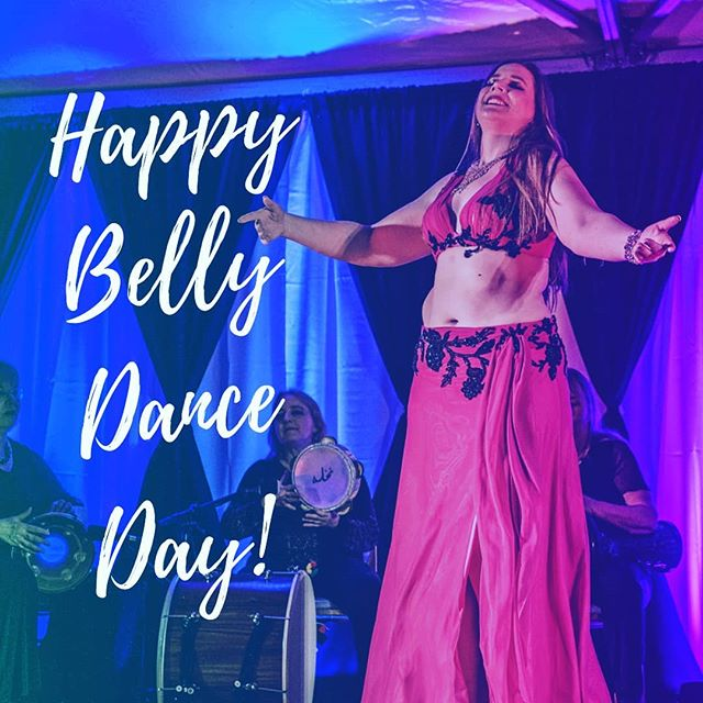 I just found out about this. Is this a real thing? Well, every day is belly dance day for me so I think I'm safe to say it 'irregardless.' 😄 #worldbellydanceday