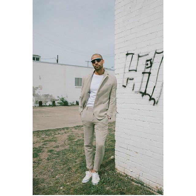#newwork from #stylist @jai.midgette  #photo @adambryantt  #model @edgarpaul @campbellmodels @urbanoutfittersmens  #mensfashion #mensstyle #mensstyling  #bekindworkhard