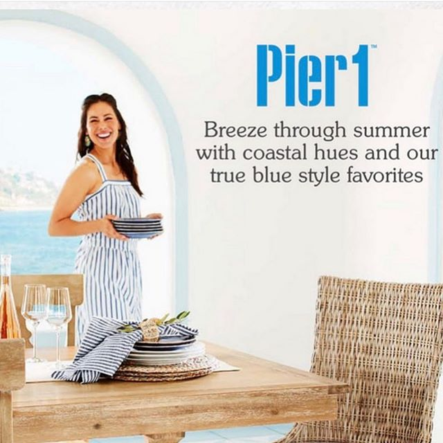 #newwork from #stylist @chivvistyles for @pier1  #prop styling @styledwithluv  #model @natasafontaine  #hairandmakeup @altidwellsightings @kimdawsonagency  #julycatalog #catalog #pier1  #advertising #ad #bekindworkhard
