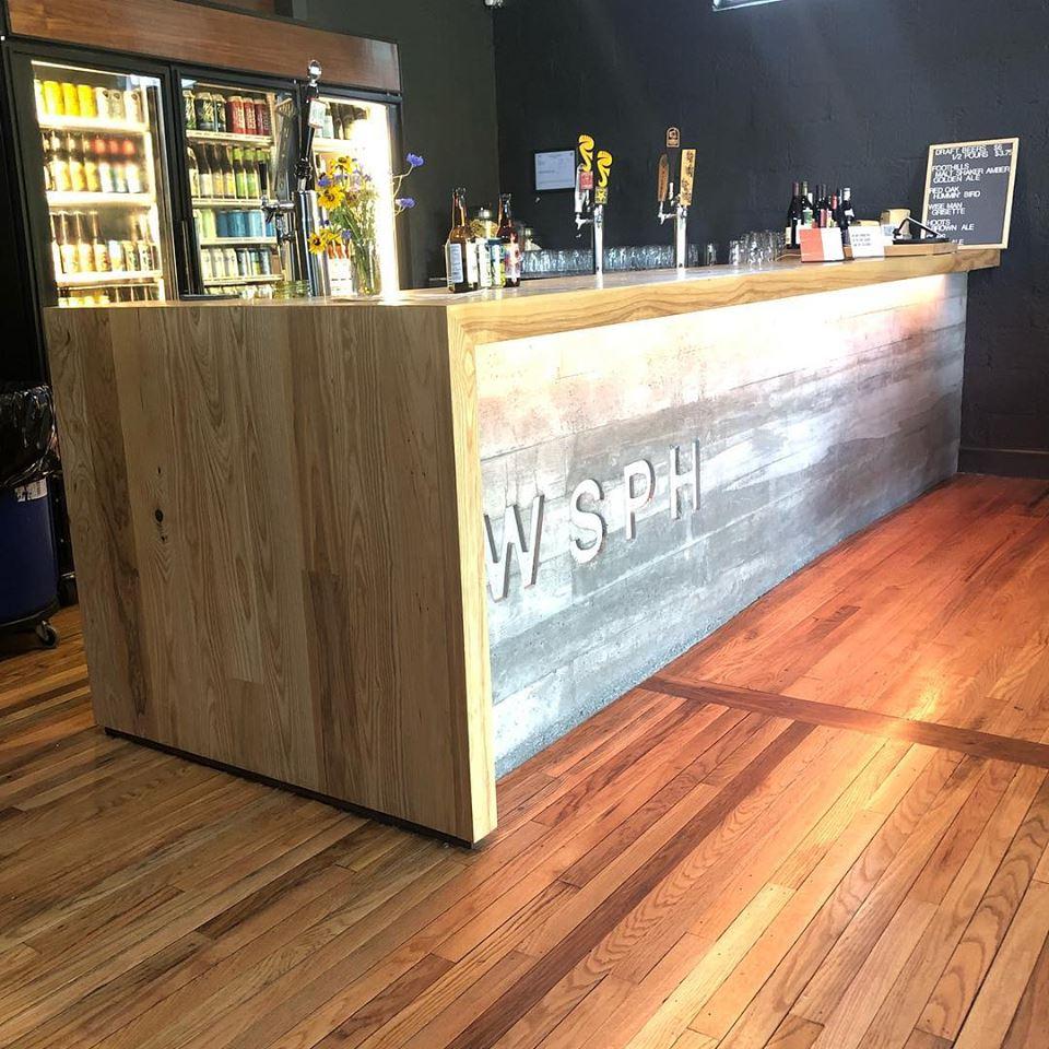 Bar Top in the Public House, Winston-Salem, NC