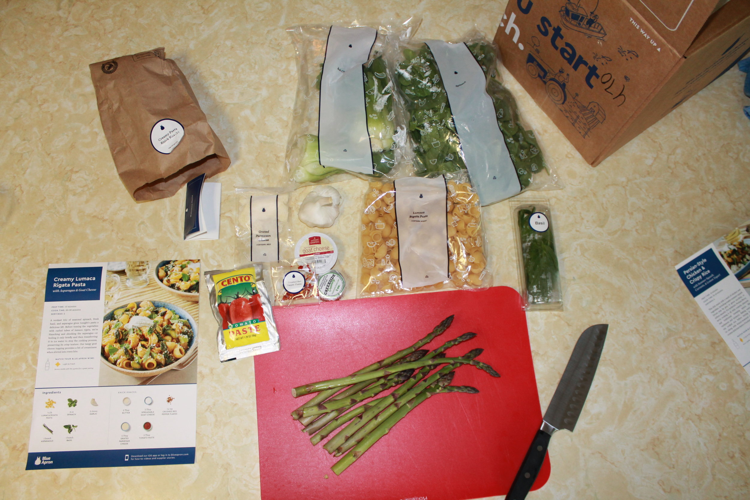 The prep! I'm so surprised that shipped veggies look, feel and taste this fresh!