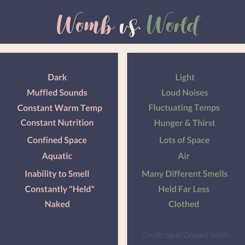 Womb vs. World concept credit:  Sarah Ockwell-Smith