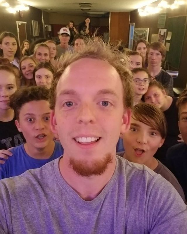 Last night we talked about Unity! We were challenged to work together to all fit into 25 people in 1 selfie, and put together a puzzle as a group!