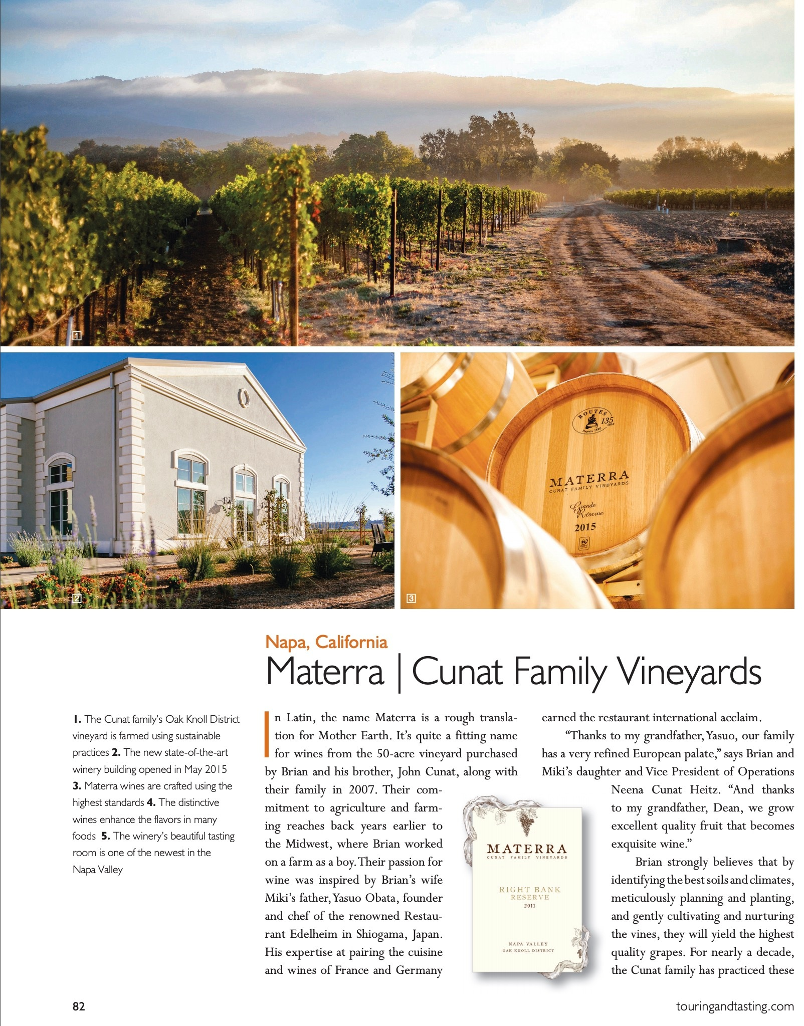 Click for PDF [Touring & Tasting Magazine]