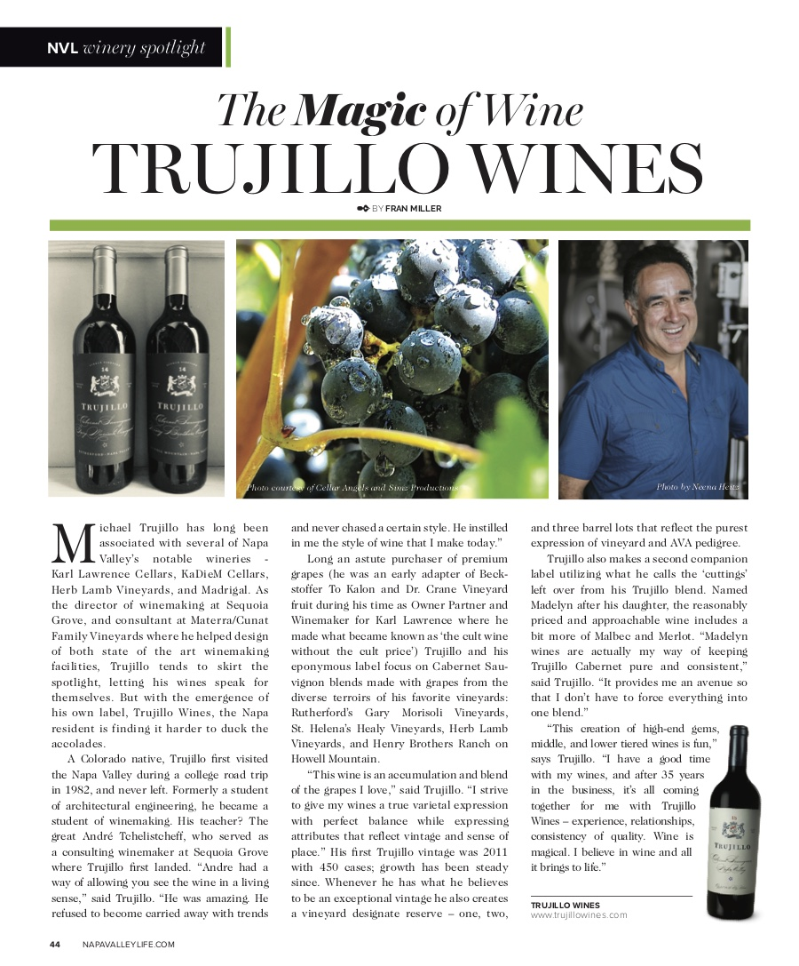 Click for PDF [Napa Valley Life]