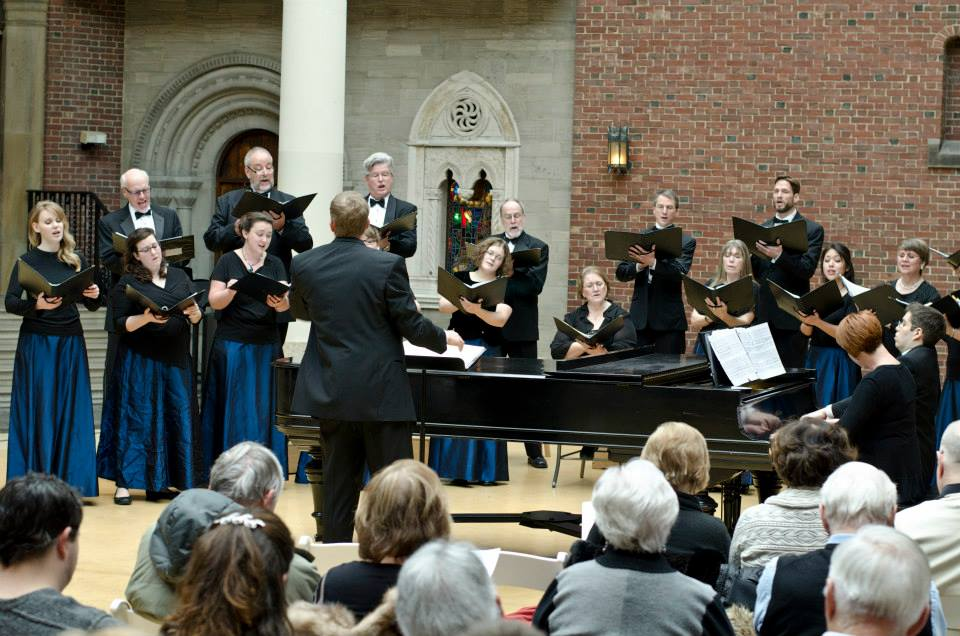 Past performance in the Gothic Clositer at the Dayton Art Institute
