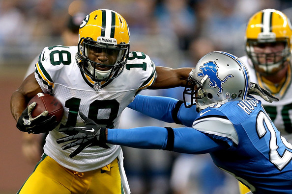 Randall Cobb and his three touchdowns are headed to Detroit.