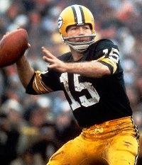 Bart Starr has always looked good in a football uniform.