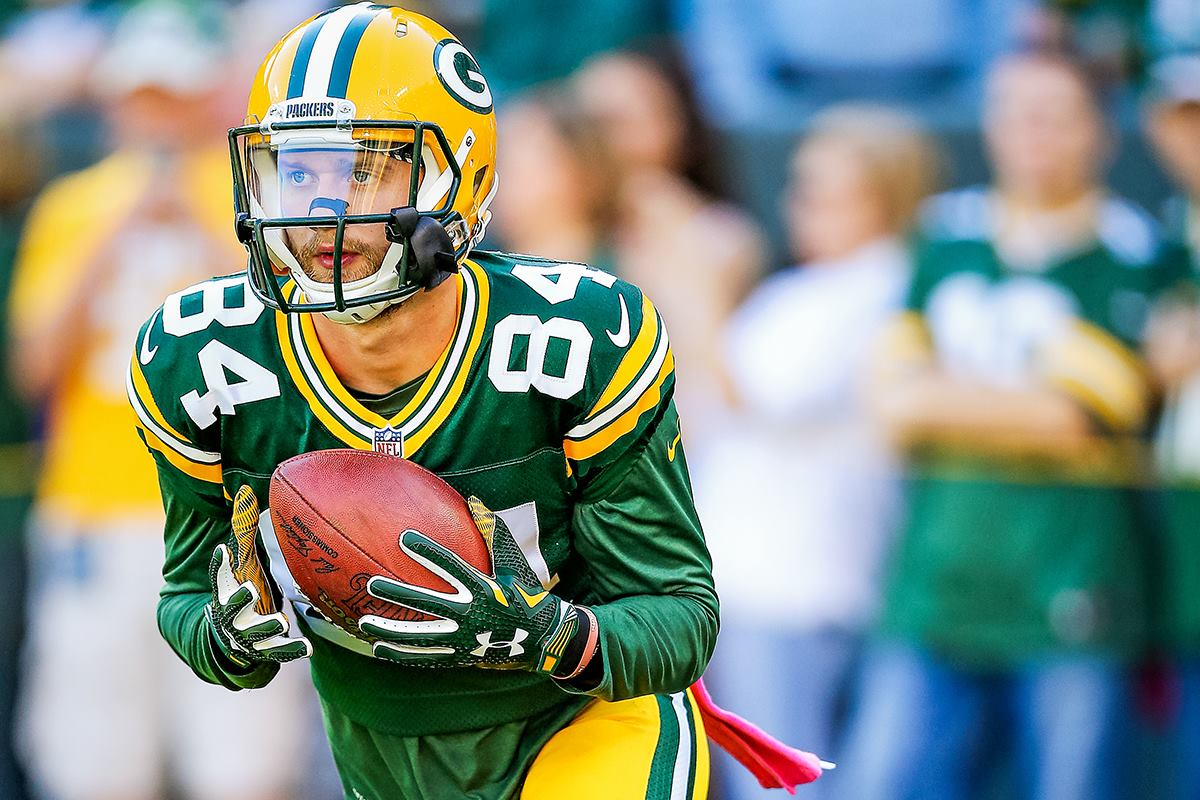 Jared Abbrederis enters his third NFL season with the Packers in 2016.
