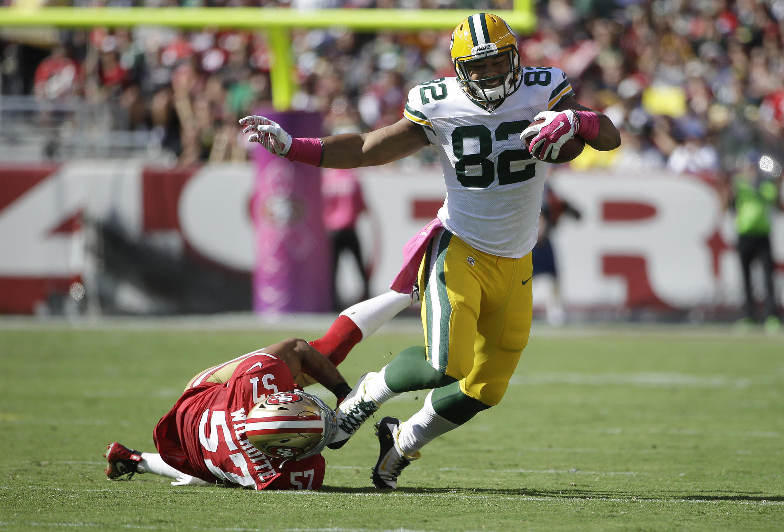 Tight end Richard Rodgers is entering his third season with the Packers in 2016.