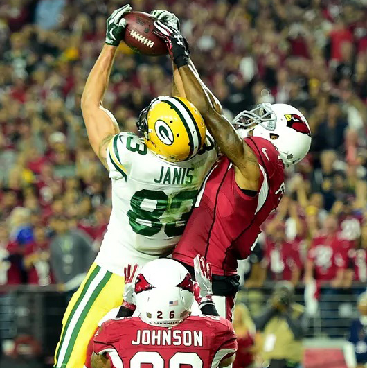 A Hail Mary touchdown hauled in by Jeff Janis was not enough to put the Packers into the NFC Championship Game.